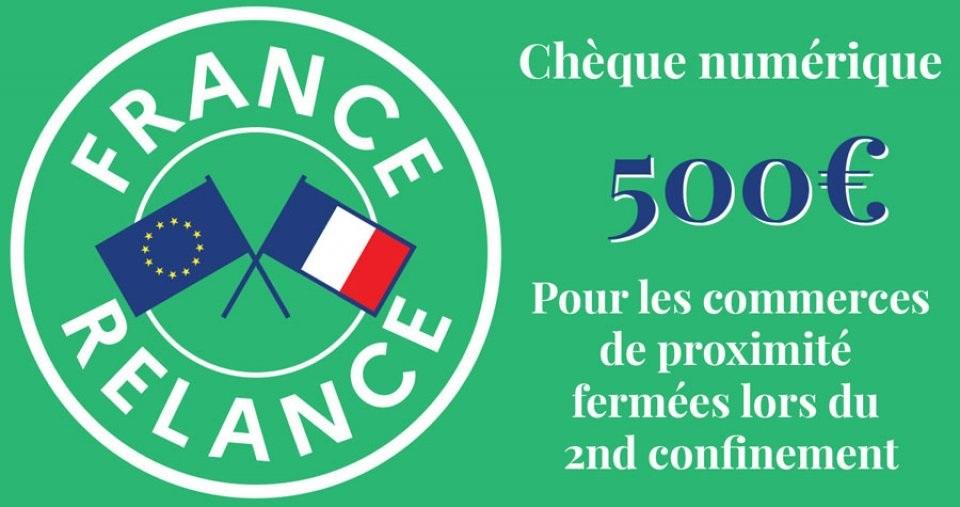 Chèques «France Num»