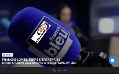 On parle de nous sur France Bleu